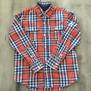 EUC Gap Kids Boys Button Down Shirt Sz. M (8)